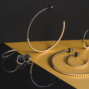 Judith Peterhoff Jewellery - BoulBoulle Two-Tone Handmade Yellow Gold and Black Rhodium Jewellery Collection