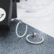Judith Peterhoff Jewellery - BoulBoulle Small Beaded Hoop Earrings in Sterling Silver