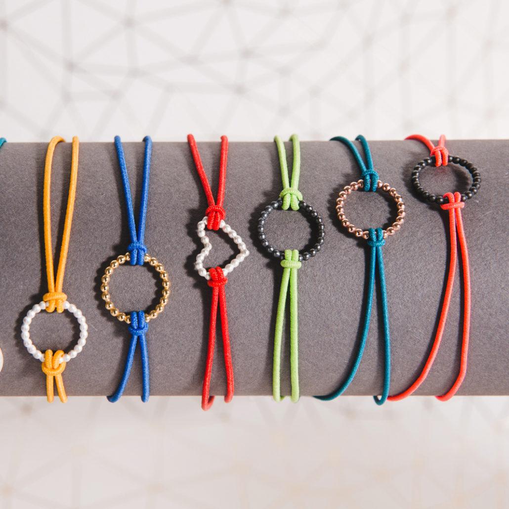 Judith Peterhoff Jewellery - Colourful Handmade Charm Bracelets