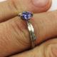 Judith Peterhoff Jewellery - Bespoke handmade engagement ring inspired by an owl
