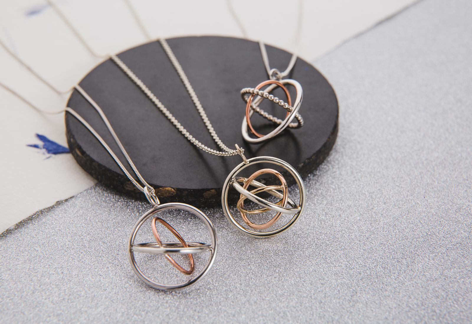 Judith Peterhoff Jewellery - bespoke handmade family pendants in silver or gold
