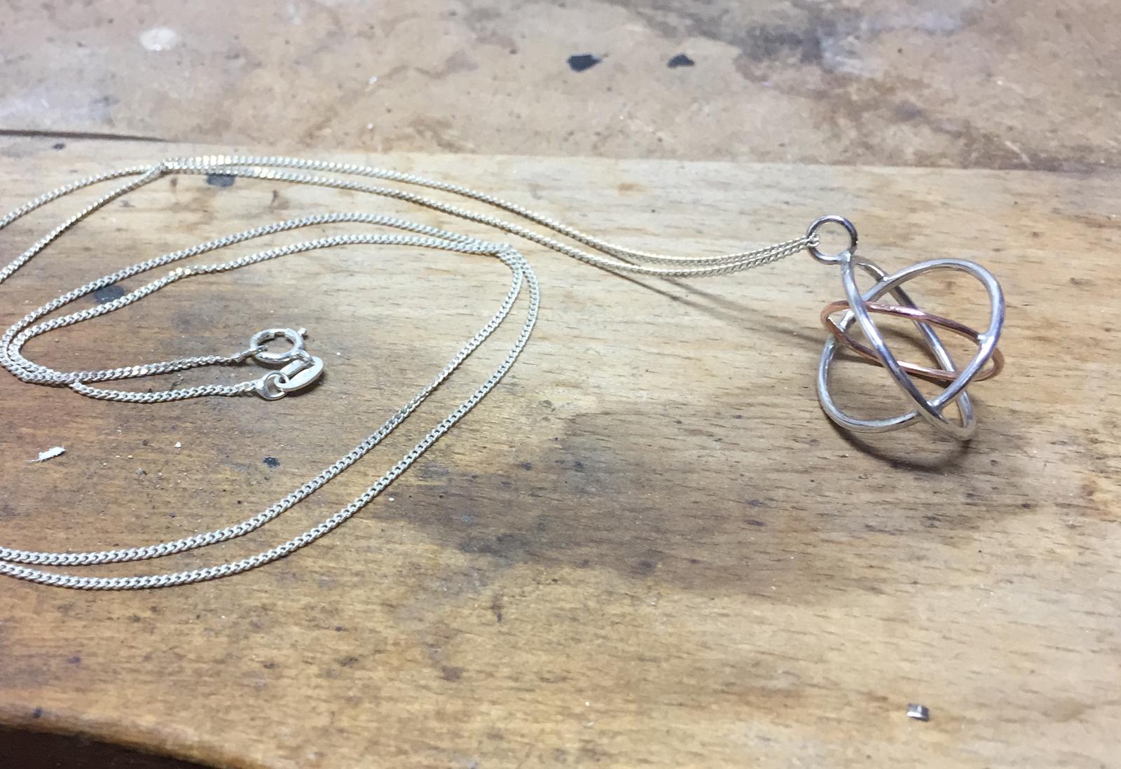 Judith Peterhoff Jewellery - bespoke handmade family pendant