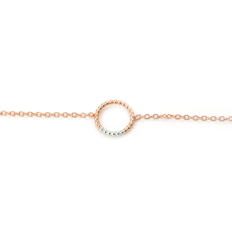 Charm Bracelet Rose White