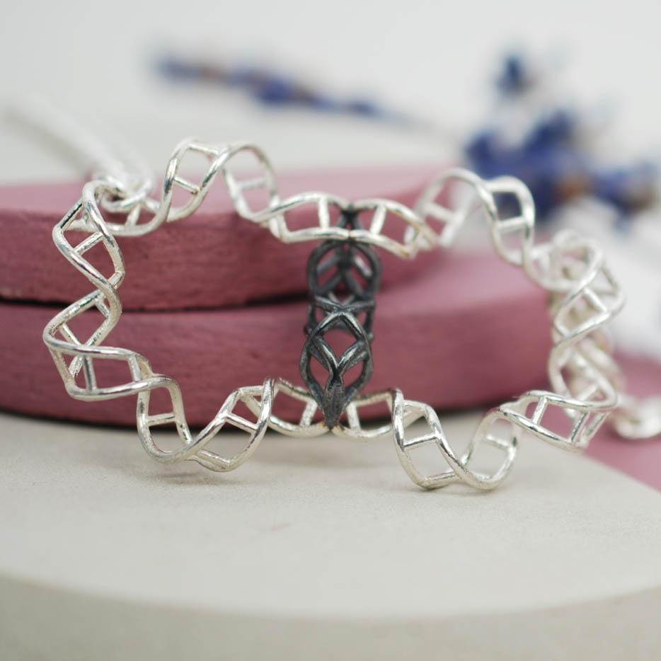 DNA Pendant - double helix