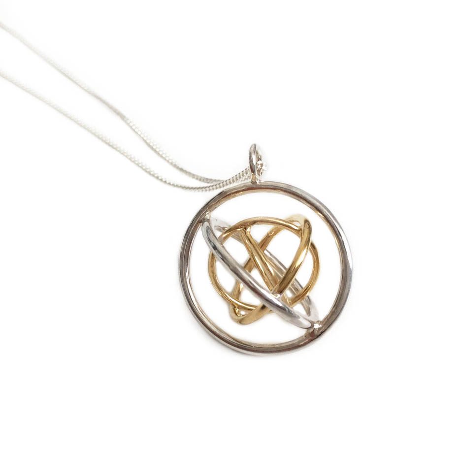 Handmade necklaces and pendants by judith peterhoff jewellery family pendant for a mum of three aloadofball Image collections