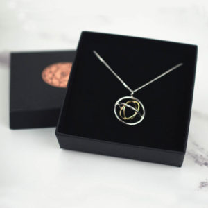 Judith Peterhoff Jewellery Family Pendant Packaging for delivery