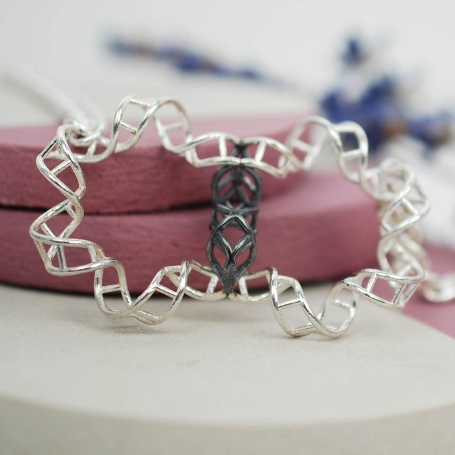 DNA Pendant - double helix