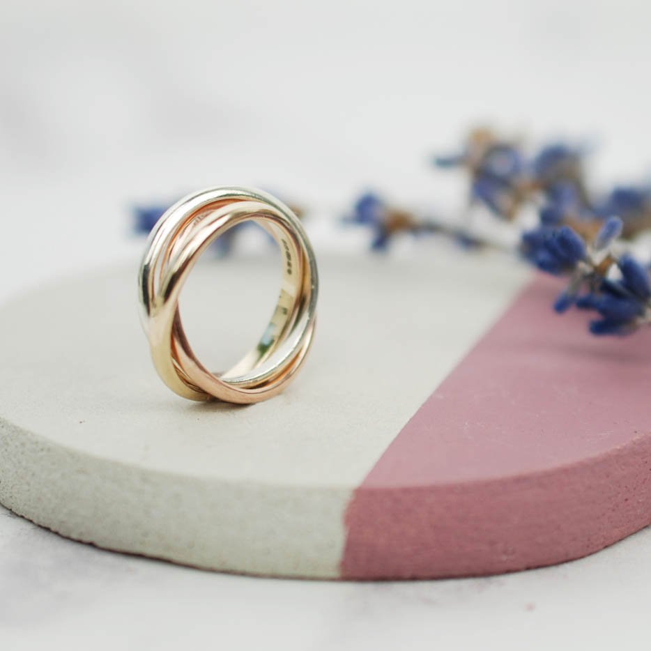 9ct gold russian wedding